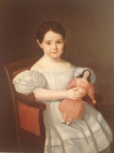 "Portrait of a Little Girl, called ""Euphrosine"", Jean Joseph Vaudechamp, 1836, Private Collection"