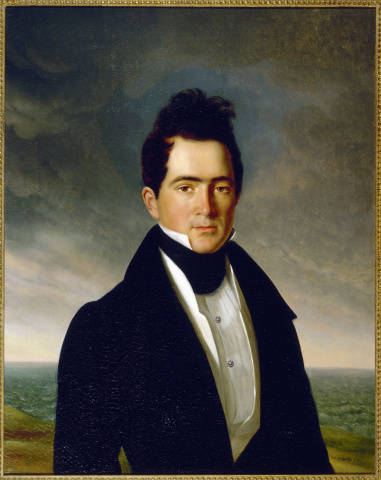 William Charles Cole Claiborne II, Jean Joseph Vaudechamp, 1831, The Historic New Orleans Collection