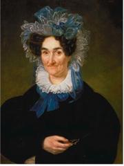 Madame Theodore Bailly Blanchard (Rosa Colon) Jean Joseph Vaudechamp 1832 Louisiana State Museum