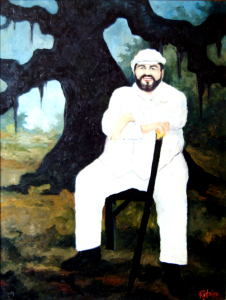 Figure 4: Paul Prudhomme, 1986. Oil on Canvas, 30 x 40 inches. Collection K-Paul's Louisiana Kitchen, New Orleans.