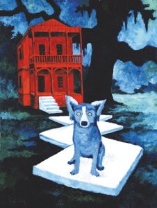 Figure 9: Watchdog, 1984. Oil on canvas, 40 x 30 inches. Private Collection.