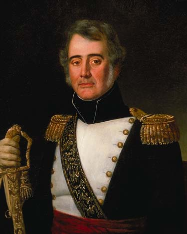 Major Jean-Baptiste Plauche Jean Joseph Vaudechamp 1836 Louisiana State Museum
