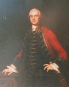 "John Hesselius. ""Horatio Sharpe, Colonial Governor of Maryland."""