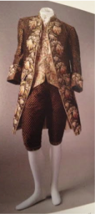 Reproduction of 17th century costume