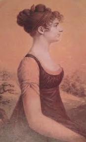 "Charles Balthazar Julien Fevret de Saint-Mesmin. ""Miniature of Harriet Rodgers"""