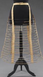 Knee-Length Wire Hoop Cage