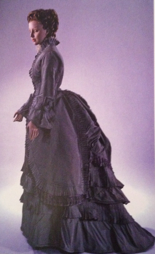 Daytime dress of 1874