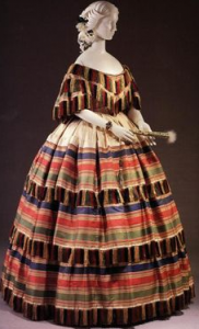 Hoop Dress dyed with synthesized coal tar