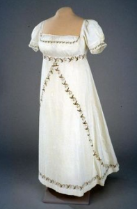 Mrs. White, Gown
